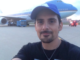 brad paisley air force one
