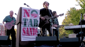 JTMP and Troy Lush at anti-Keystone XL Pipeline Rally 2011
