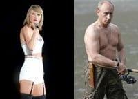 Swift & Putin - Credits: Gabbot/Kremlin.ru/CC