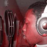 T-Bizzle in the studio